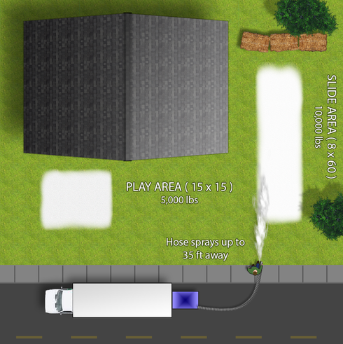 Sample Play Area Mockup for Smaller Events